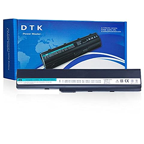 Dtk Batterie Haute Performance pour Ordinateur Portable Asus A32-k52 /