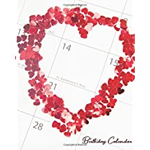 Birthday Calendar: Perpetual Calendar |Record All Your Important Dates |Date Keeper |Christmas Card List |For Birthdays Anniversaries & Celebrations: Volume 3 (perpetual calendar book)