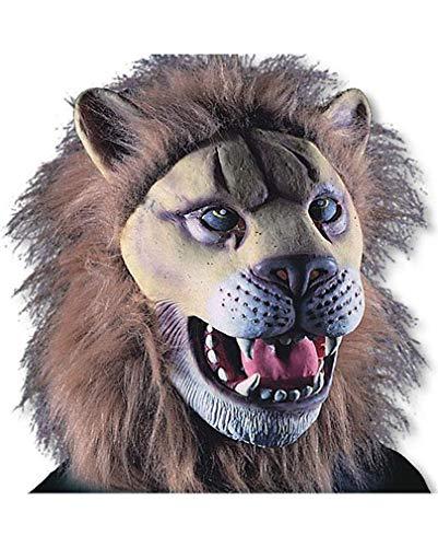 Horror-Shop Löwen Maske aus Latex
