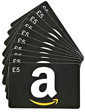 Amazon.co.uk £5 Gift Cards - 10-Pack (Generic)