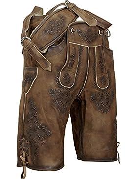 kurze Lederhose Ben mit Träger von Almsach