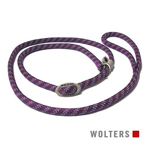 Wolters | Moxonleine Everest reflektierend in Pflaume/Lavendel | L 180 cm x B 0,9 cm