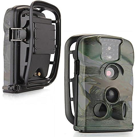 Registrazione video sorveglianza di sicurezza Ltl-5210A 12MP 940nm camuffamento Narrow-angle Lens impermeabile macchina fotografica della fauna selvatica di caccia di prova digitale selvaggio Stealth 1080P con la macchina fotografica audio con Covert visione notturna ad