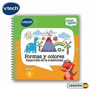 VTech - Libro Aprende Formas y Colores, desarrolla la creatividad (3480-480522)