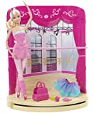 Barbie in the Pink Shoes: Ballet Studio Doll and Playset