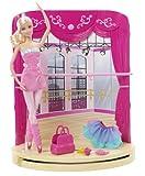 Barbie the Pink Shoes: Ballet Studio Puppe und Spielset