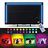 Sunix 2M RGB LED Tira de TV, Retroiluminación LED...