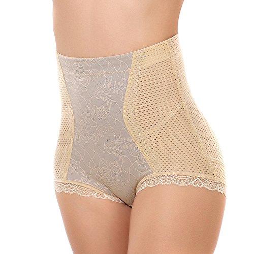 Butterme Frauen Shapewear mit hoher Taille Kurz Bauch-Steuerboyshort Unterwäsche Oberschenkel Schlanker Formwäsche Höschen Nackt