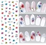 Nail Art Wasser Transfer Sticker Nail Sticker Tattoo Blume - DS310 Nail Sticker Tattoo - FashionLife