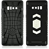 Samsung Galaxy Note 8 2017 Case Cover Danallc Durable Shock-Absorption Protective Case Man Ultra Impact Bumper Cover Slim Hybrid TPU Cases For Samsung Galaxy Note 8 2017 (Black)