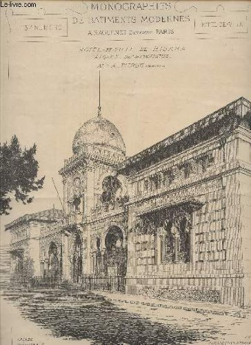 HOTEL DE VILLE DE BISKRA, ALGERIE (Dpt de CONSTANT...