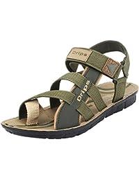 Earton Men Multicolor Sandals & Floaters
