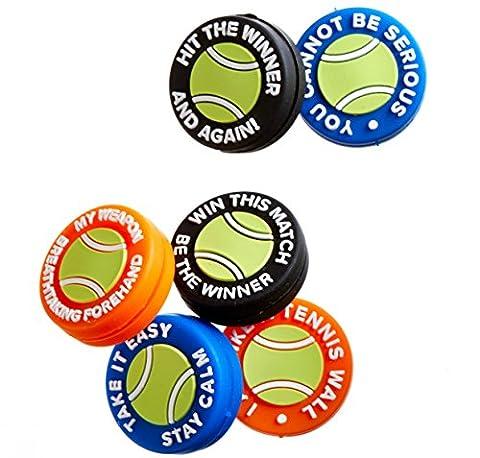 Tennis Antivibrateurs | Lot de 6 | Amortisseurs à vibrations