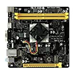 Biostar A10N-8800E Motherboard NA (Integrated CPU) Mini ITX - Motherboards (DDR4-SDRAM, DIMM, 2133 MHz, Dual, AMD, AMD Athlon FX)
