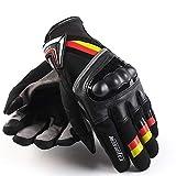 MTSBW Motorrad Wasserdicht Warm Und Winddicht Handschuhe Motorrad Vollfinger Touchscreen Racing Motocross Handschuhe Im Freien,XL
