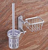 Trattamento superficiale: anodizzazione Materiale: alluminio, alluminio spazio Colore: Silver Ambito: bagno / wc