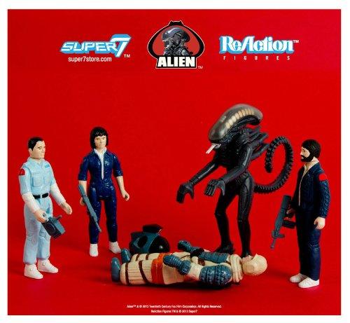 Alien - 3.75inch Action Figure: Reaction Series 1 (5pcs) by Super 7 3