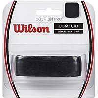 Wilson Cushion Pro Repl Grip Empuñadura base, 1 unidades, unisex, negro