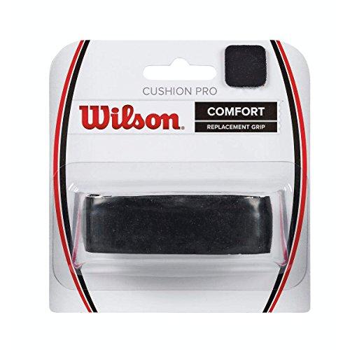 Wilson Unisex Basisgriffband Cushion Pro Repl, schwarz, 1 Stück, WRZ4209BK