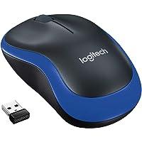 Logitech M185 Mouse Wireless, 2.4 GHz con Mini Ricevitore USB, Durata Batteria 12 Mesi, Rilevamento Ottico 1000 DPI…