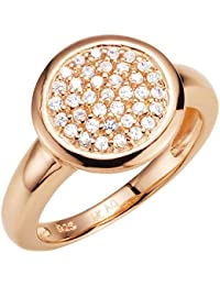 Spirit - New York Damen-Ring Silber vergoldet Zirkonia weiß 930038975