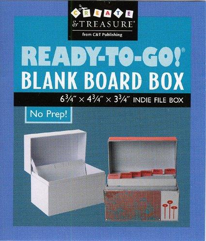 Ready-to-Go! Blank Board Box (Create & Treasure (C&T Publishing))