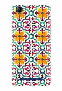 Noise Designer Printed Case / Cover for LYF FLAME 8 / Graffiti & Illustrations / Summer Design