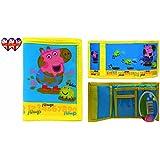 Los niños, monedero de George (Peppa Pig), con licencia oficial, bolso niños.