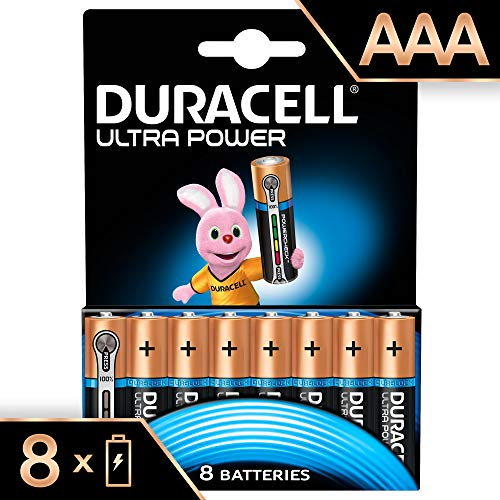 Duracell Ultra Power Alkaline AAA Batterien, 8er Pack
