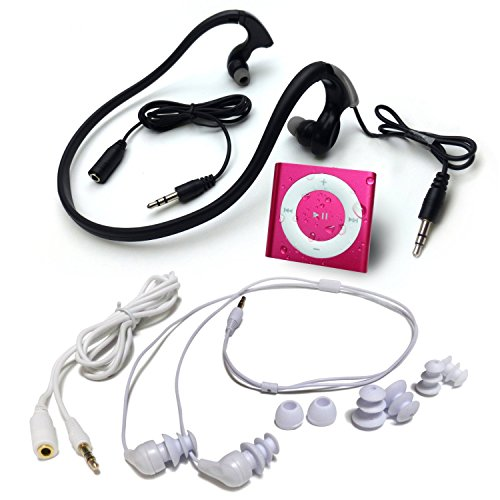 new-hot-pink-underwater-audio-waterproof-ipod-mega-bundle