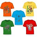 #8: Kiddeo Kids boys Tshirts(pack of 5)