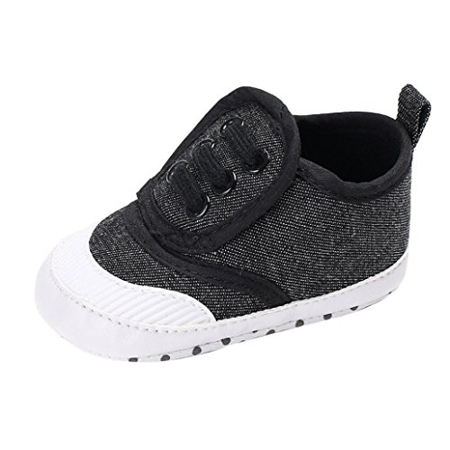 FNKDOR Neugeborene Baby Jungen Mädchen Kleinkind Schuhe Rutschfest Turnschuhe (0-6 Monate, (Schuhe Jungen Baby)
