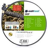 Manguera de jardín llanto riego riego por goteo manguera de 1/2 x 7,5 m, se adapta Hozelock