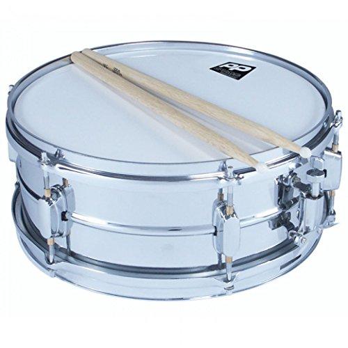 Performance Percussion PP170 Snare Drum 35 X 14cm mit Schlägel, Tasche und Ständer