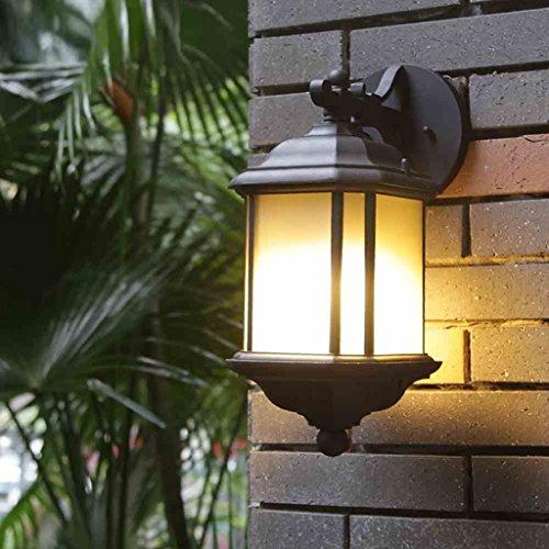 AMOS Le balcon imperméable extérieur européen de lampe de mur de LED allume les lumières de jardin extérieures lumières de couloir carré