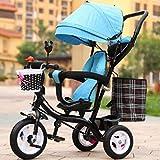 Baby Kinder Dreirad männliche und weibliche Baby Fahrrad Trolley / 1-2-3-6-jährige Kinder Fahrrad Baby Trolley (Farbe : 5)