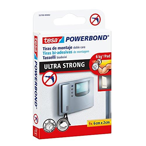 Tesa 55790-00002-00 Powerbond Ultra Strong Nastro Biadesivo Forte per Tasselli