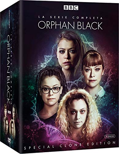 Orphan Black - Special Clone Edition (15 DVD + Cards e Booklet)