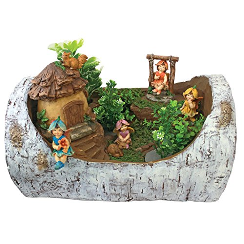 'Interpret Design Toscano Tiny Forest Friends Gnome Garden Statue Collection