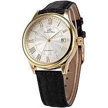 Reloj vintage cuero negro