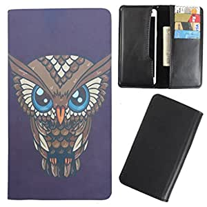 DooDa - For Intex Aqua i4 PU Leather Designer Fashionable Fancy Case Cover Pouch With Card & Cash Slots & Smooth Inner Velvet