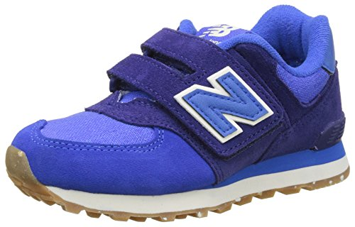 New Balance Unisex-Kinder Kv574esy M Hook and Loop Sneakers Blau (Blue)