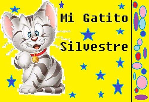 Mi gatito Silvestre por Guadalupe castillo