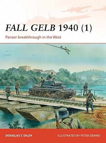 Fall Gelb 1940 (1): Panzer breakthrough in the West (Campaign) por Doug Dildy