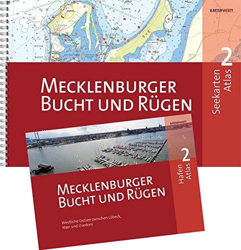 SeeKarten Atlas 2   Mecklenburger Bucht und Rügen: Westliche Ostsee zwischen Lübeck, Bornholm und Usedom