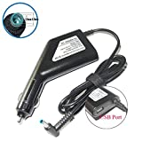 helpers lab Notebook Netzteil Laptop Ladekabel Kfz Ladekabel Adapter 65W 19.5v 3.33a 4.5mm x 3.0mm für HP EliteBook,Pavilion, Split, TouchSmart, Envy