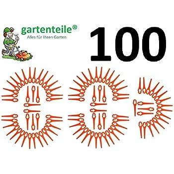 100 couteaux en plastique convient pour bosch art 23 li - Batterie pour coupe bordure bosch ...