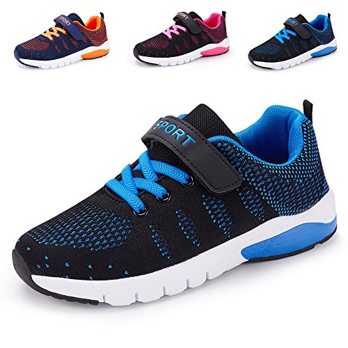 MAYZERO Unisex-Kinder Sneakers Laufen Schuhe Sportschuhe Sneakers Jungen Mädchen Low-Top Sneakers