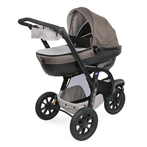 Chicco trio activ3 sistema modulare con kit car, dove grey