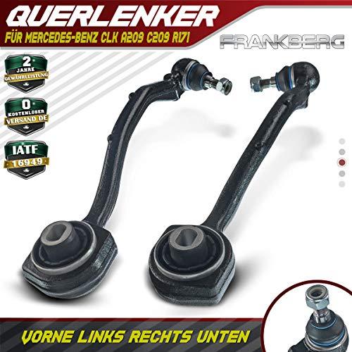 2x Querlenker Lenker Vorne Unten Links Rechts für A209 W203 S203 CL203 C209 Alle Motoren 2001-2010